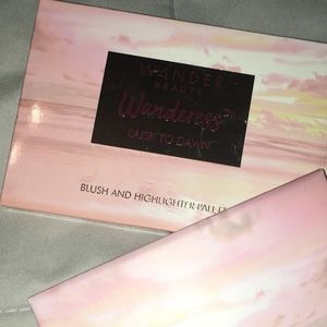 Wander Beauty  Blush and Highlighter Palette